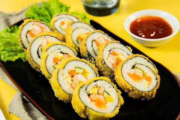 rong biển cuộn kimbap bao nhiêu calo