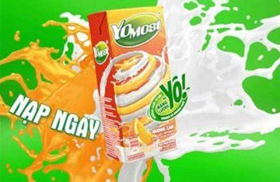 sữa Yomost bao nhiêu calo