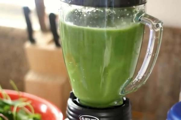 1 ly nước rau má đậu xanh bao nhiêu calo